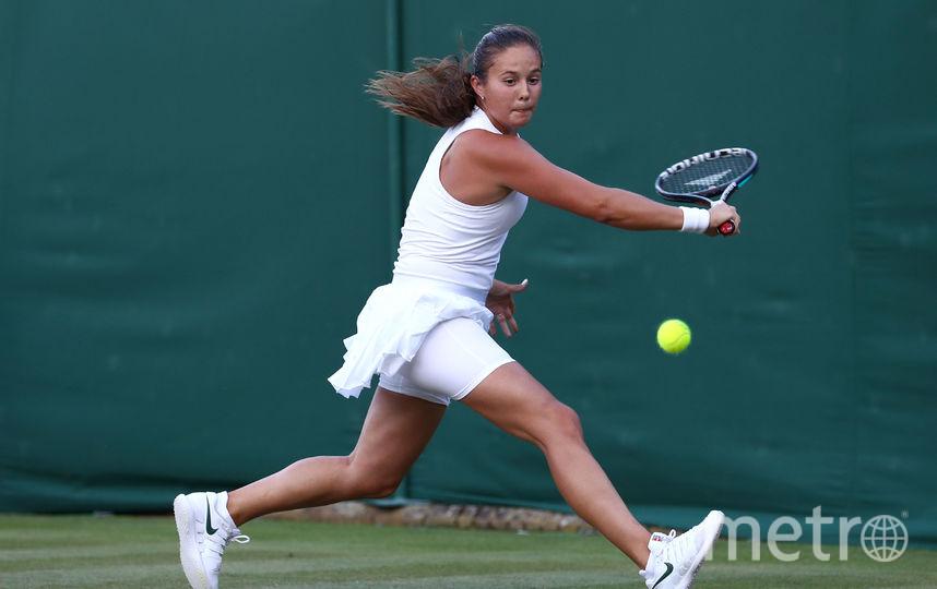 Российская теннисистка Дарья Касаткина, посеянная на турнира под 14-м номером. Фото Getty