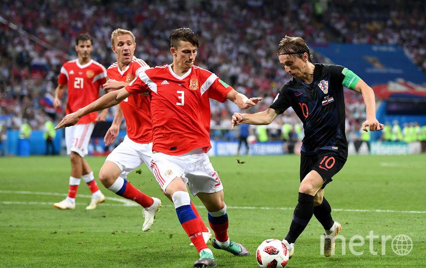 Матч Россия-Хорватия. Фото Getty