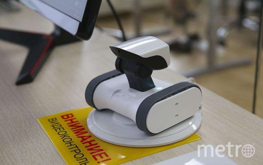Робот, который помогает в поисках. Фото Василий Кузьмичёнок