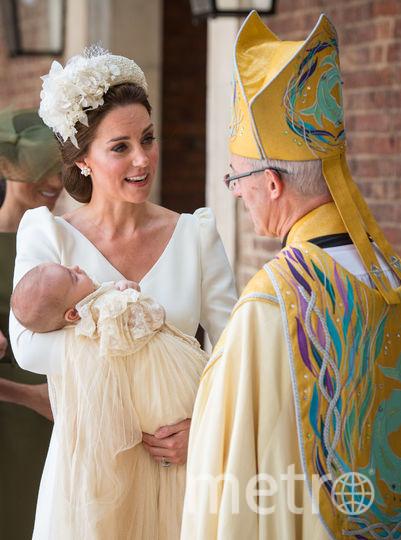 Кейт Миддлтон и принц Луи. Фото Getty