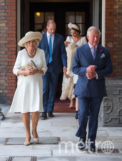 Крестины принца Луи. Принц Чарльз и его супруга Камилла. Фото Getty
