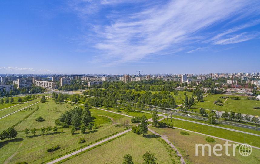 Петербург можно сделать уютнее за счёт промзон. На месте заводов появятся не только дома, но и парки. Фото  предоставлено компанией ЦДС