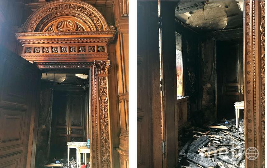 После пожара. Фото kgiop.gov.spb.ru.