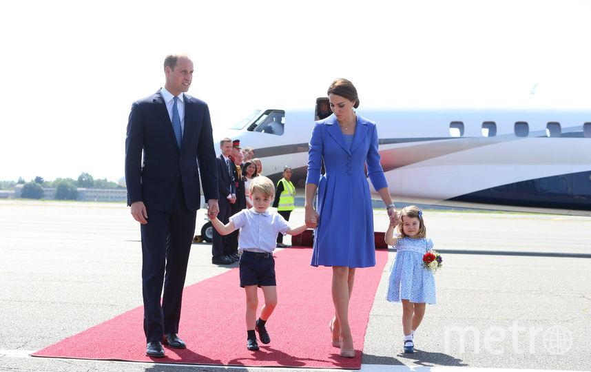 Принц Уильям и Кейт Миддлтон с принцем Джорджем и принцессой Шарлоттой. Фото Getty