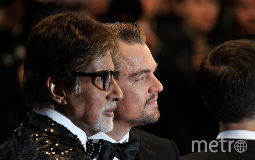 Амитабх Баччан и Леонардо ДиКаприо. Фото архив фото, Getty