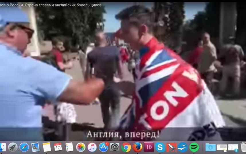 Тео и его отец в восторге от поездки в Россию. Фото Скриншот Youtube
