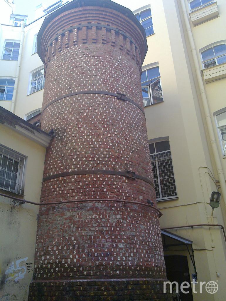 Башня грифонов. Фото https://ru.wikipedia.org