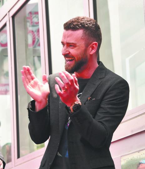 Justin Timberlake. Фото Getty