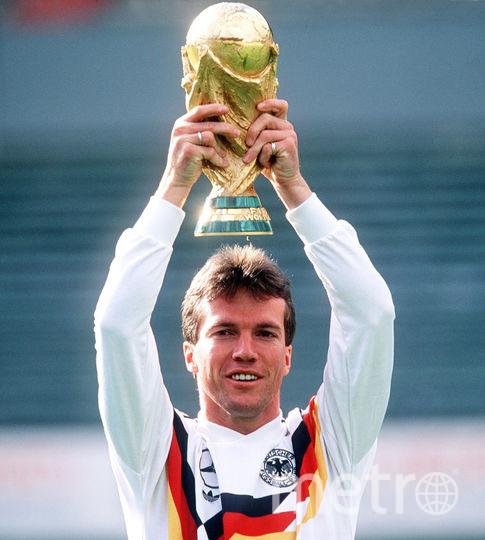 Лотар Маттеус стал чемпионом мира в составе сборной Германии (1990 год). Фото Getty