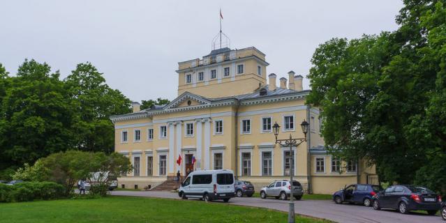 """Усадебный дом и парк """"Сиворицы""""."""