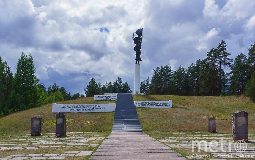 Мемориал «Партизанская слава». Фото https://krasnyakova.com