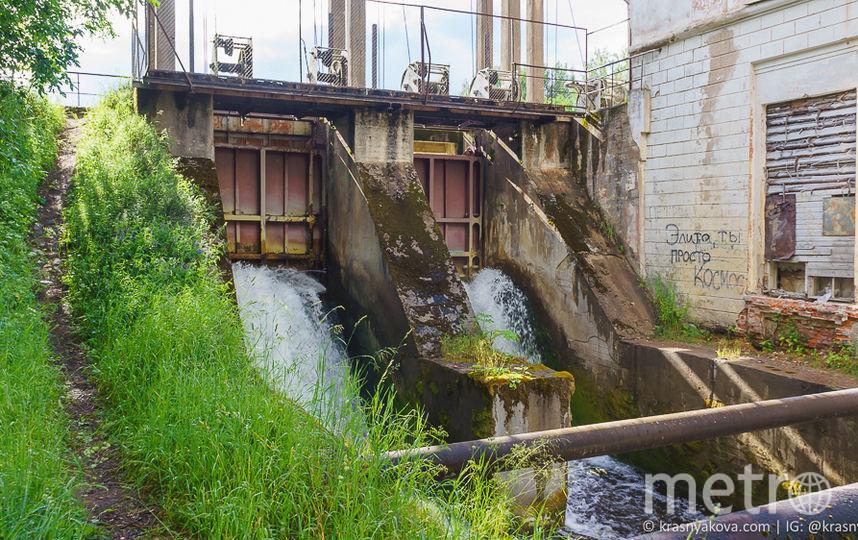 ГЭС! Около деревень Вревское и Задубье. Фото https://krasnyakova.com