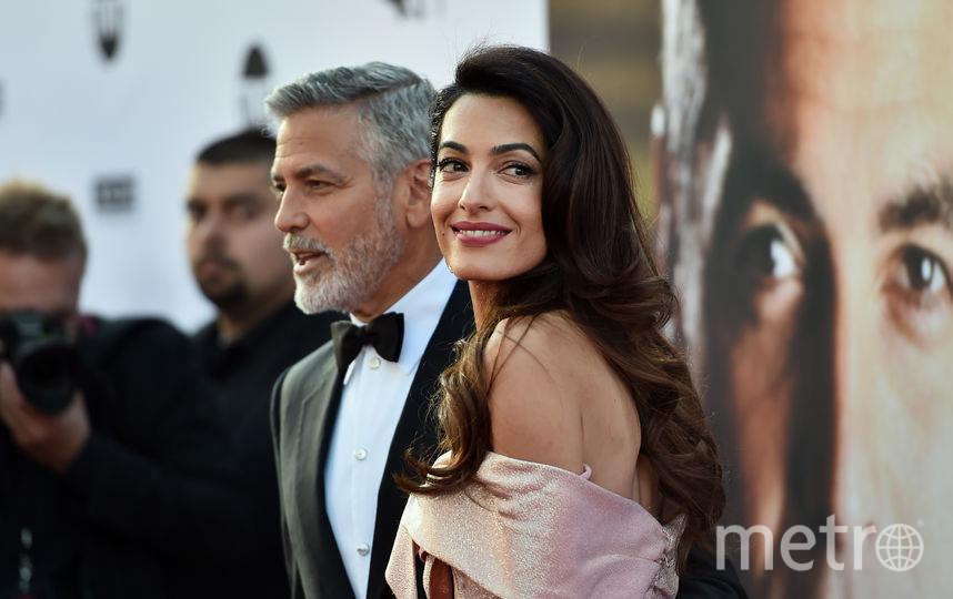 Джордж Клуни с супругой Амаль, архивное фото. Фото Getty