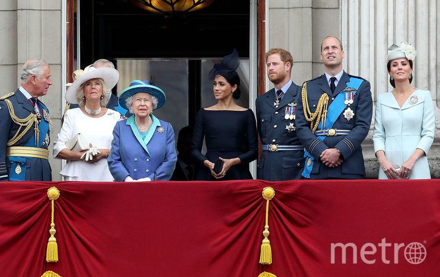 Королевская семья на балконе Вестминстерского аббатства. Фото Getty