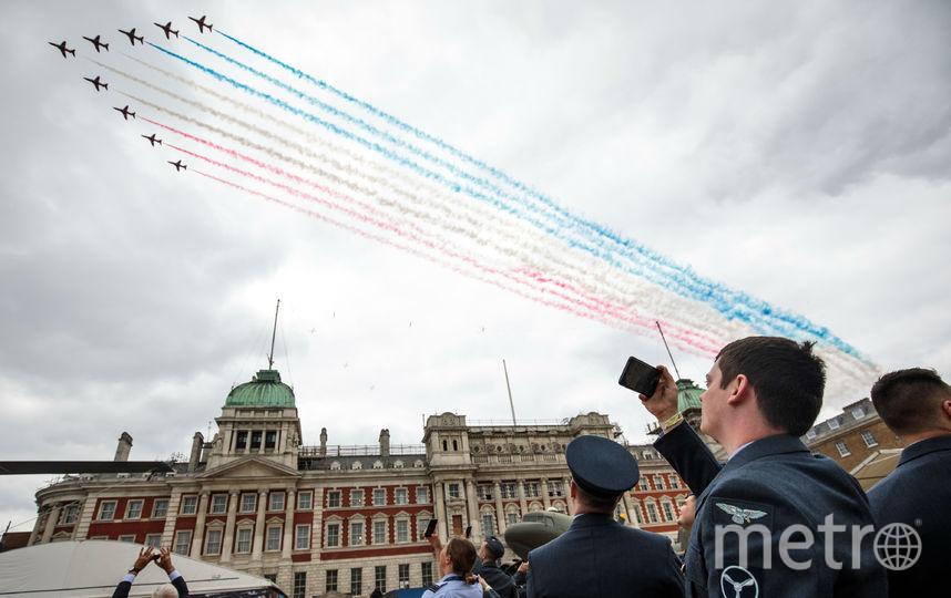 Парад в честь 100-летия Королевских воздушных сил. Фото Getty