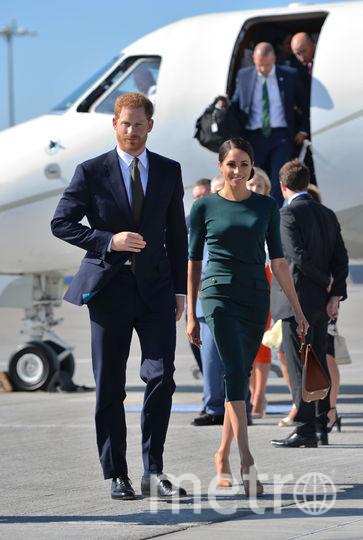 Принц Гарри и Меган Маркл в Дублине. Фото Getty