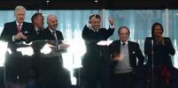 В Сети обсуждают президента Франции Макрона, который приехал на футбол без жены