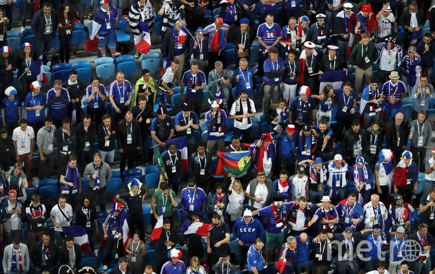 Полуфинал в Петербурге. Фото Getty