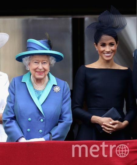 Меган Маркл на параде в Лондоне. Фото Getty