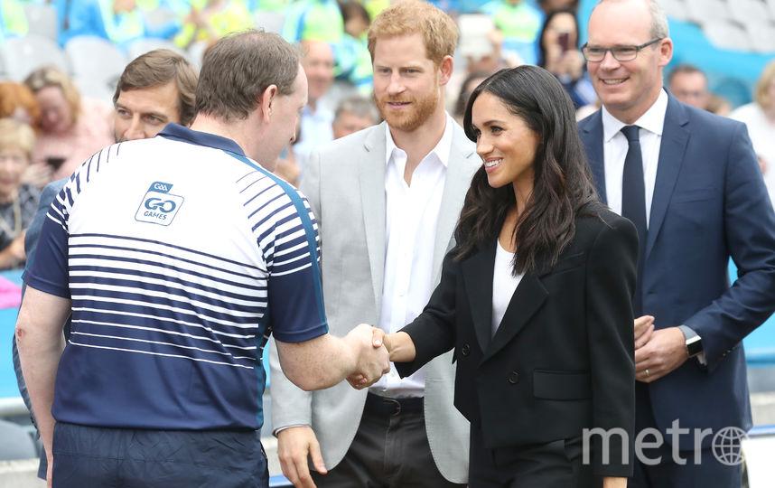 Визит принца Гарри и Меган Маркл в Дублин. Фото Getty