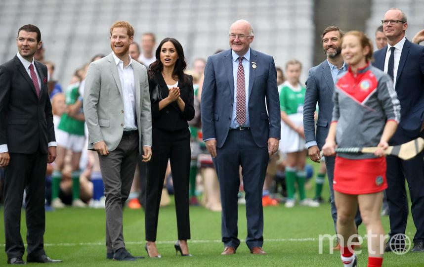 На стадионе в Дублине. Фото Getty