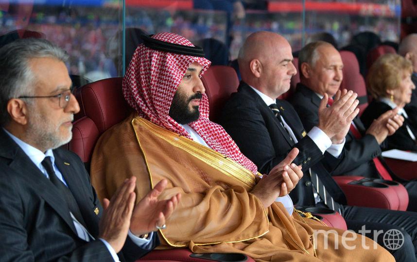 Джанни Инфантино на матче Россия - Саудовская Аравия. Фото Getty