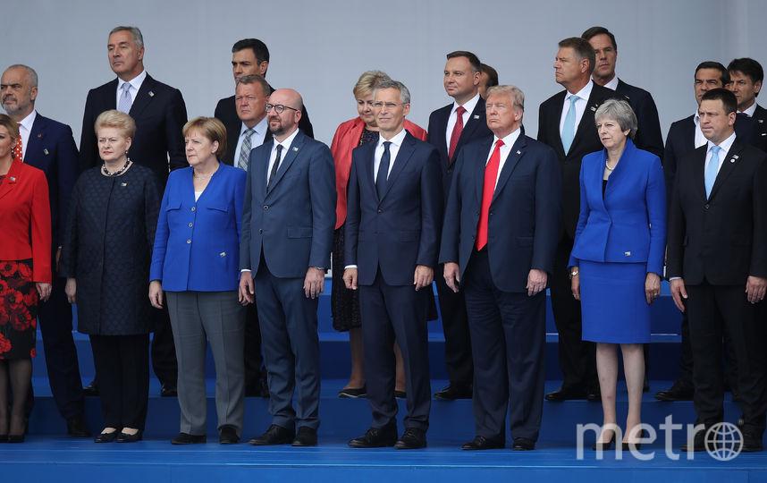 Саммит НАТО в Брюсселе. Фото Getty