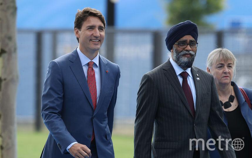 Саммит НАТО в Брюсселе. Премьер Канады. Фото Getty