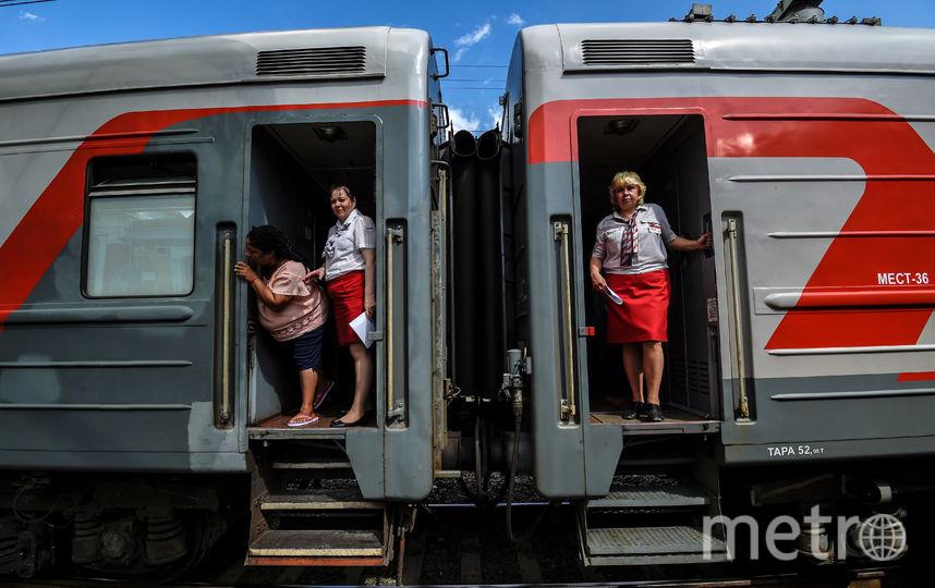 Проводники российских поездов запомнят чемпионат мира по футболу на всю жизнь. Фото AFP