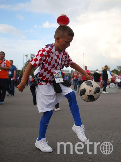 Перед матчем Англия – Хорватия. Фото Василий Кузьмичёнок