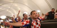 Фанаты Англии и Хорватии идут к