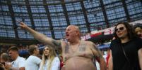 Антураж матча Англия - Хорватия в