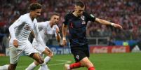 Матч Англия - Хорватия: мяч Манджукича вывел