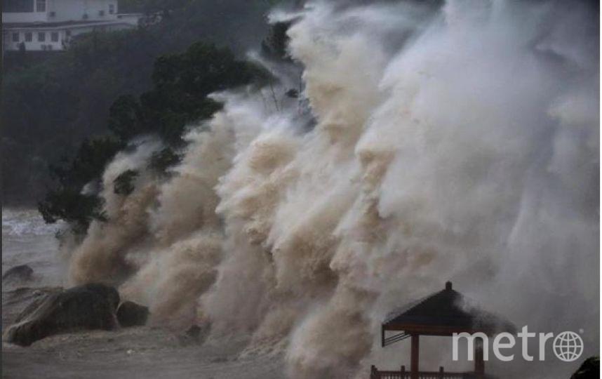 Тайфун Мария в Китае.