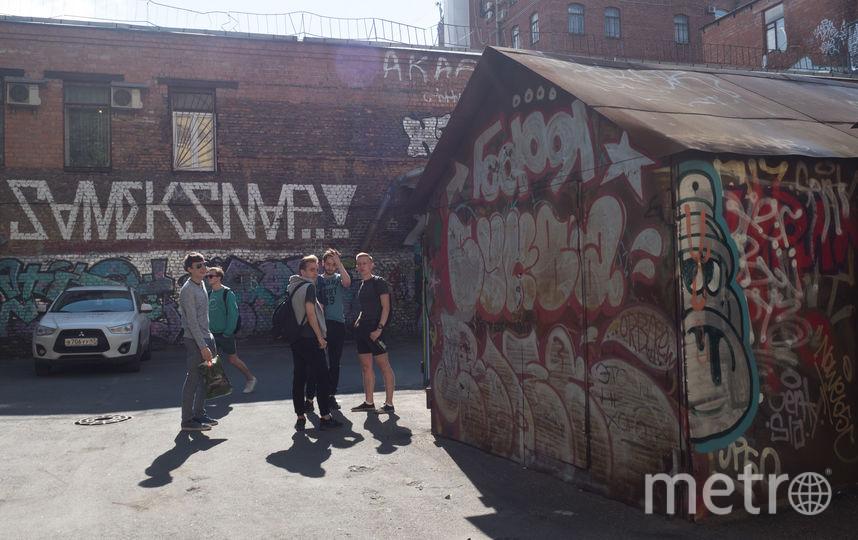 """Самый разрисованный двор на Каменноостровском проспекте, 24. Фото """"Metro"""""""