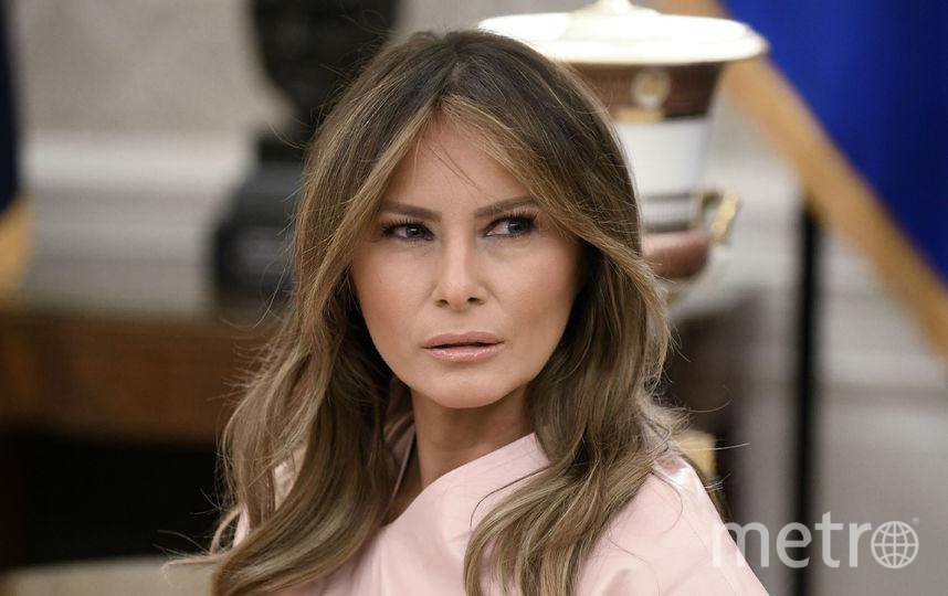 Мелания Трамп в 2018-м году. Фото Getty