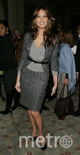 Мелания Трамп в 2004 году. Фото Getty