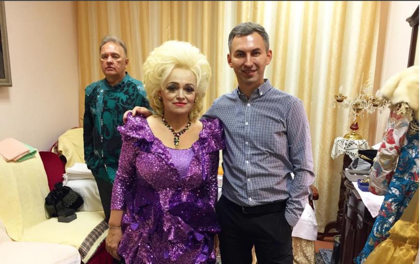 """В театре """"Золотое кольцо"""". Фото instagram.com/igorpopov_official"""