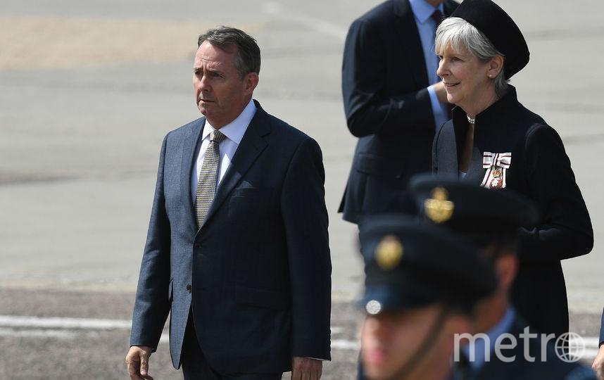 Президент США с супругой прибыли в Великобританию. Фото Getty
