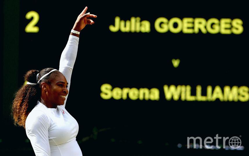 Бывшая первая ракетка мира американка Серена Уильямс. Фото Getty