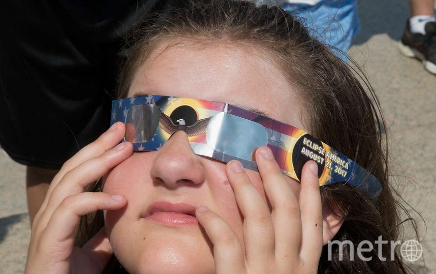Солнечное затмение. Фото Архивные фото, Getty