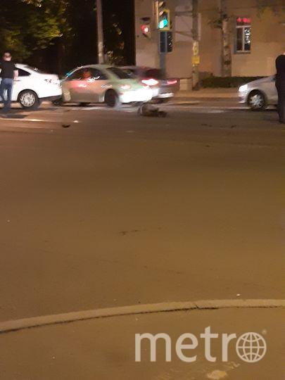 В Петербурге сбили человека на проспекте Энгельса. Фото ДТП и ЧП | Санкт-Петербург | Питер Онлайн | СПб, vk.com