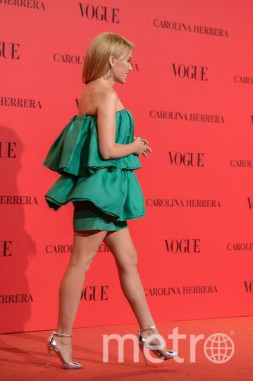 Кайли Миноуг на вечеринке Vogue в Мадриде. Фото Getty