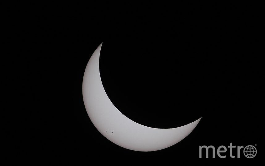 Солнечное затмение (архивное фото). Фото Getty