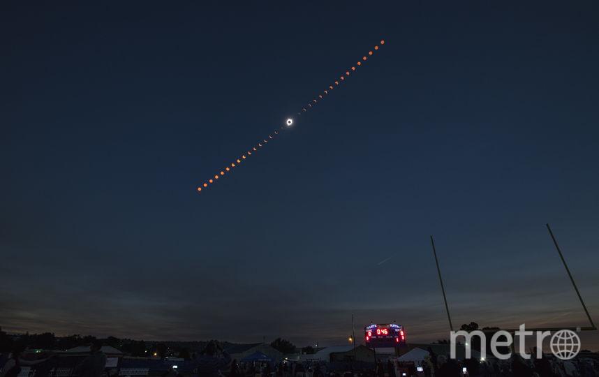 Солнечное затмение-2018 лучше всех увидели австралийцы. Фото Getty