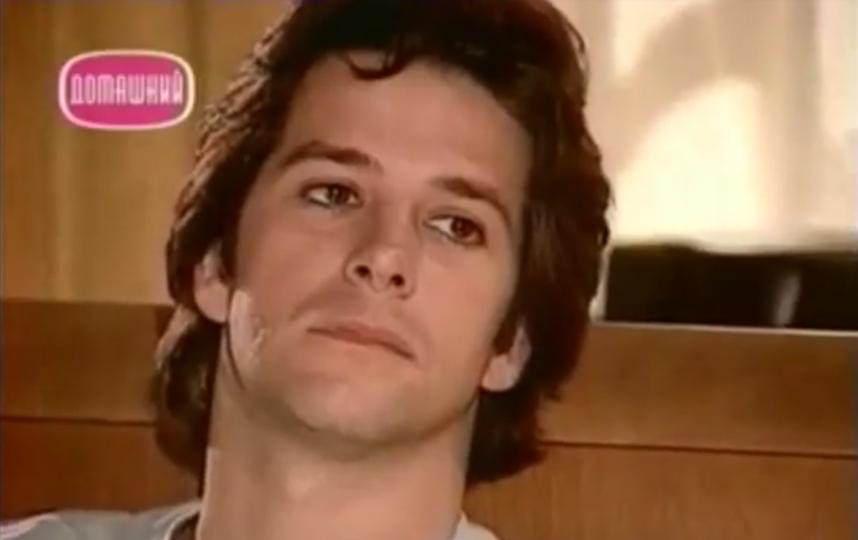 Мурилу Бенисиу в молодости. Фото Скриншот Youtube