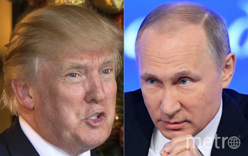 Владимр Путин и Дональд Трамп встретятся 16 июля в Хельсинки. Фото AFP