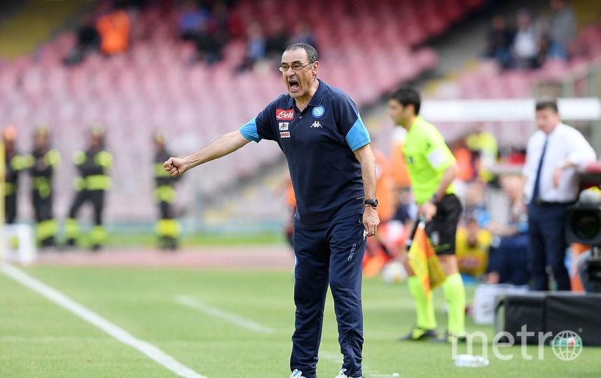"""Новый главный тренер """"Челси"""" Маурицио Сарри. Фото Getty"""