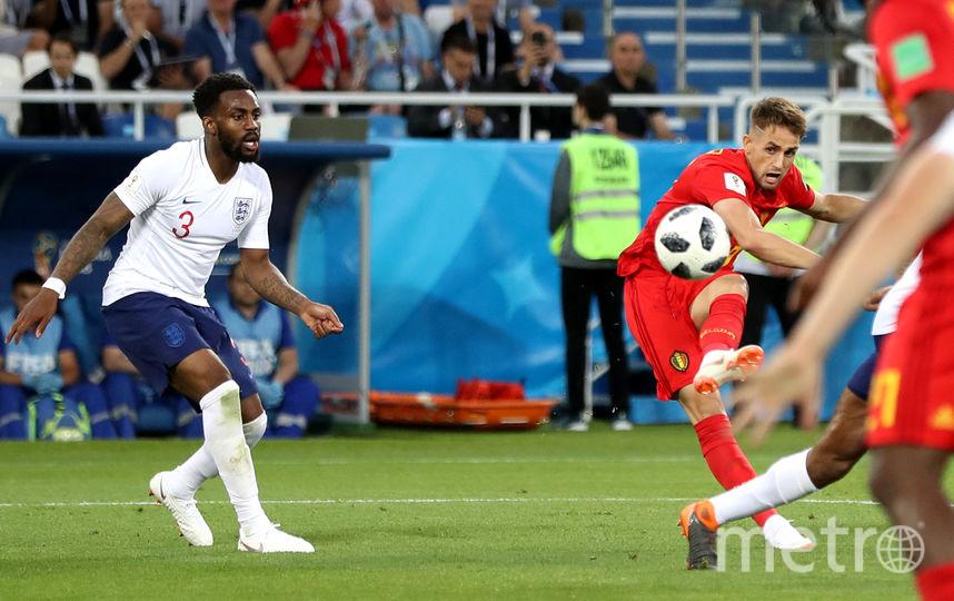 Матч группового этапа ЧМ–2018 Англия – Бельгия. Фото Getty