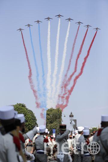Тот самый неправильный триколор. Фото AFP